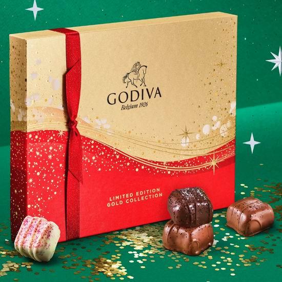 精选 Godiva、Lindt、HBC Stripes 巧克力、饼干糖果等2.5折起清仓+额外满减10加元!