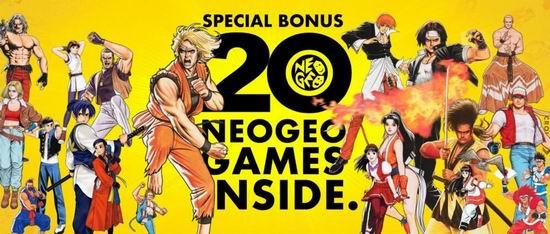 历史新低!Neogeo Arcade Stick Pro 复古街机摇杆 游戏机 146.7加元包邮!内置20经典游戏,把街机带回家!