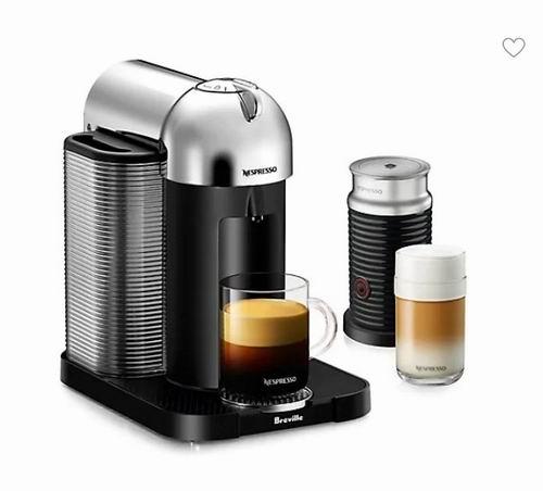Nespresso Vertuo BNV250CRO1BU 胶囊咖啡机+奶泡机套装 213.99加元,原价 319.99加元,包邮