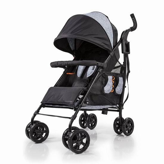 历史新低!Summer Infant 32673 3Dtote CS+ 超大储物 婴儿推车5.3折 105.7加元包邮!