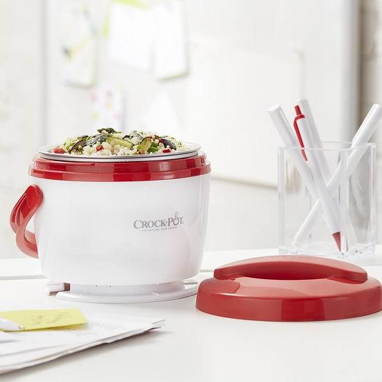 Crock-Pot SCCPLC200-R 20盎司 电热午餐饭盒6.3折 21.78加元!上班族的移动厨房!