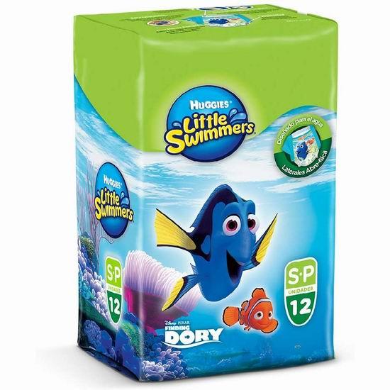 历史新低!Huggies 好奇 婴幼儿游泳纸尿裤(Size 3、16-26磅、12片)3.3折 3.65加元!
