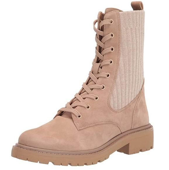 Sam Edelman 女士Lydell战斗靴  131.72加元起(2色),原价 199加元,包邮