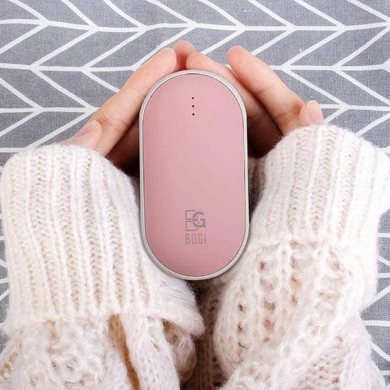 历史新低!BOGI 5200mAh 充电式多功能 迷你暖手宝/充电宝5折 13.99加元!3色可选!