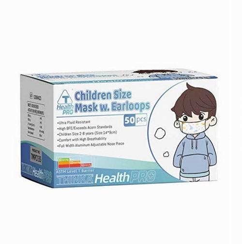 THINKA  ASTM L1 儿童医用面罩 50个 16.99加元,原价 19.99加元