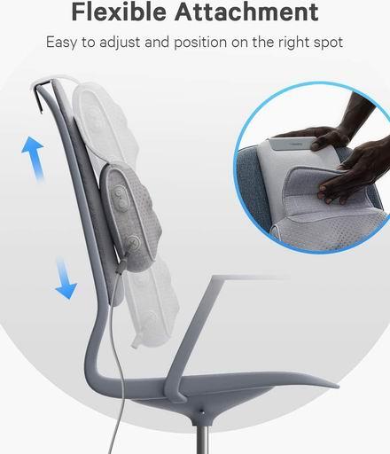 Naipo 办公座椅 颈背肩腰 深层指压加热按摩器/按摩枕 54.99加元包邮!