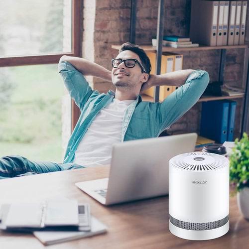 史低价!RIGOGLIOSO GL-2109 便携式低噪声空气净化器 带HEPA过滤器 44.9加元限量特卖,原价 75.99加元,包邮
