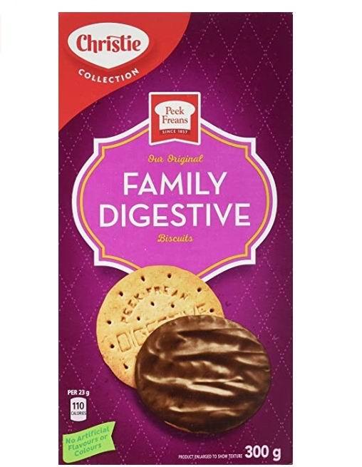 Christie Peek Frean 巧克力饼干 300克 2.47加元