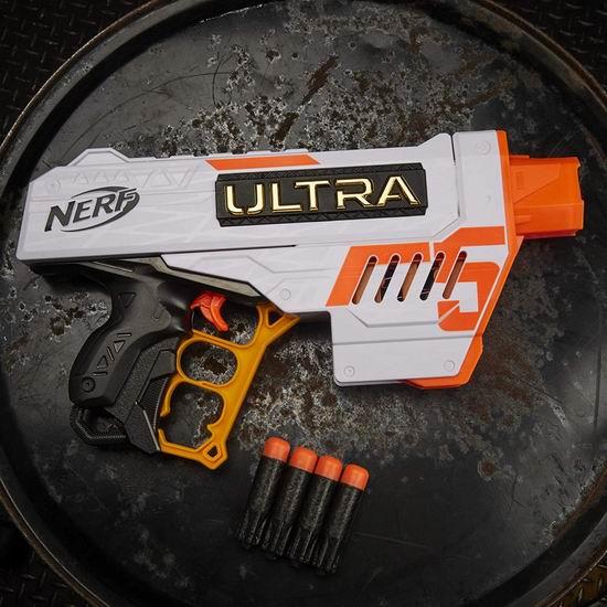 白菜价!Nerf Ultra Five Blaster 泡沫海绵玩具枪 3.3折 9.8加元,原价 29.99加元
