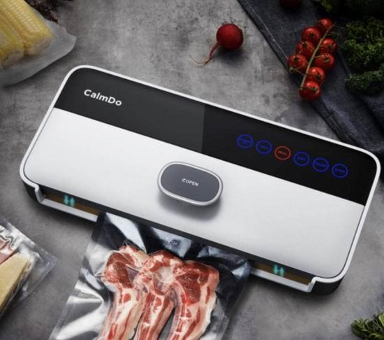 CalmDo 全自动食品保鲜密封机/保鲜机  8.5折 84.99加元限量特卖,食品保鲜久,冰箱无异味,早午晚餐带着走