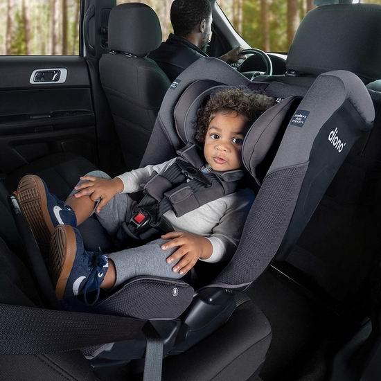 近史低价!Diono Radian 3QX 4合1双向汽车安全座椅 8折 399.98加元,6色可选!