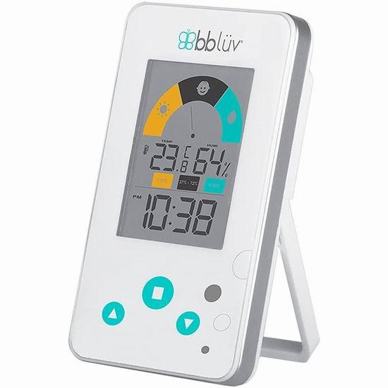 历史最低价!bblüv Igrö 多功能 儿童闹钟/温度计/湿度计7.5折 11.16加元!