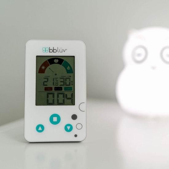 历史最低价!bblüv Igrö 多功能 儿童闹钟/温度计/湿度计7.5折 11.17加元!