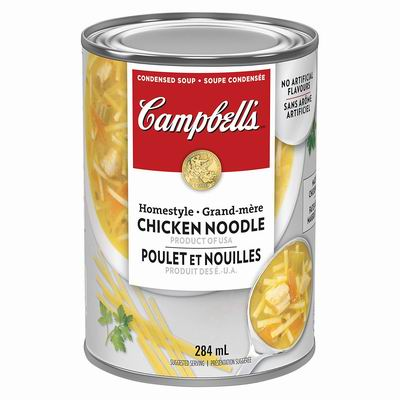 白菜价!精选 Campbell's 金宝汤 速食汤、速食罐头0.54加元起!