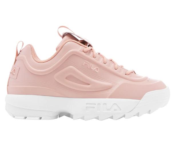 Fila Disruptor II 女士粉色厚底老爹鞋 53.98加元(8/8.5码),原价 89.99加元,包邮