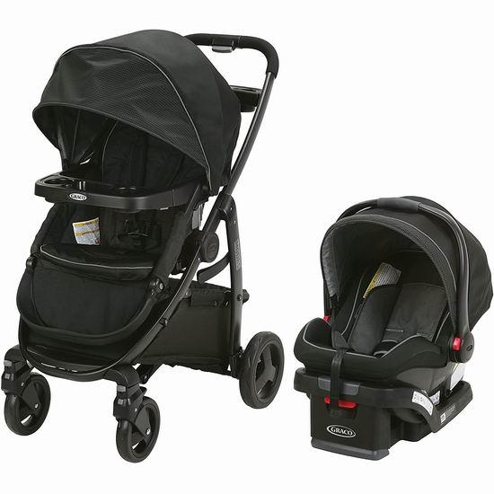 Graco Modes Click Connect 豪华三合一 双向婴儿推车+婴儿提篮 399.97加元包邮!