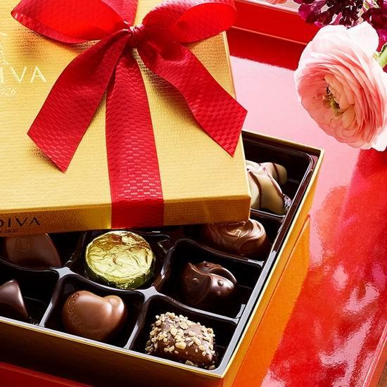 Godiva 歌帝梵巧克力优选礼盒6折起+无门槛包邮!来自比利时皇室,送礼绝佳选择!