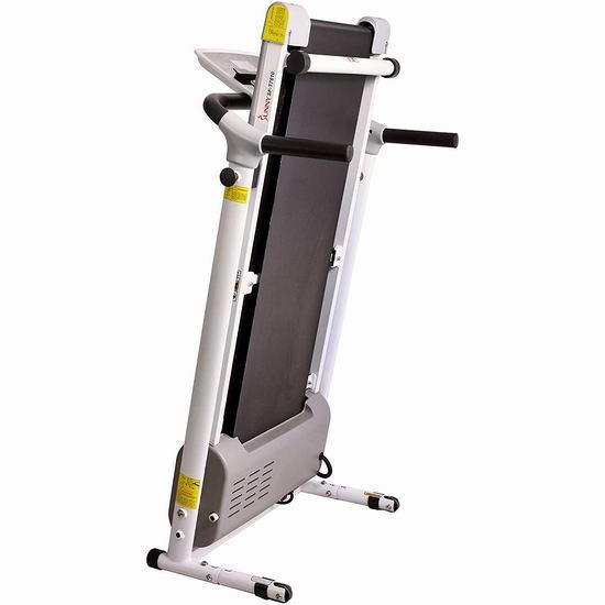 Sunny Health&Fitness SF-T7610 家用跑步机7.3折 396.19加元包邮!