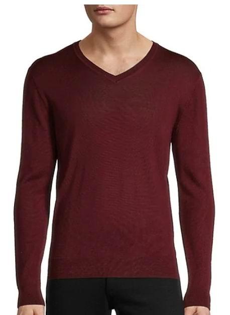白菜价!Black Brown 1826 男士羊毛混纺毛衣11.36加元起+满立减10加元