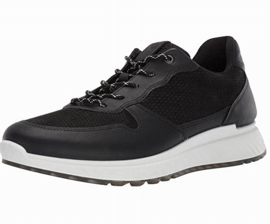 白菜价!ECCO爱步 St.1 男士运动鞋 63.19加元(10-10.5码),原价 170加元,包邮