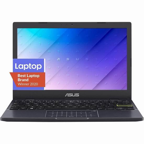 历史新低!ASUS 华硕 L210 11.6英寸超轻薄笔记本电脑(4GB, 64GB) 216.63加元包邮!上网课、浏览网页实惠之选!