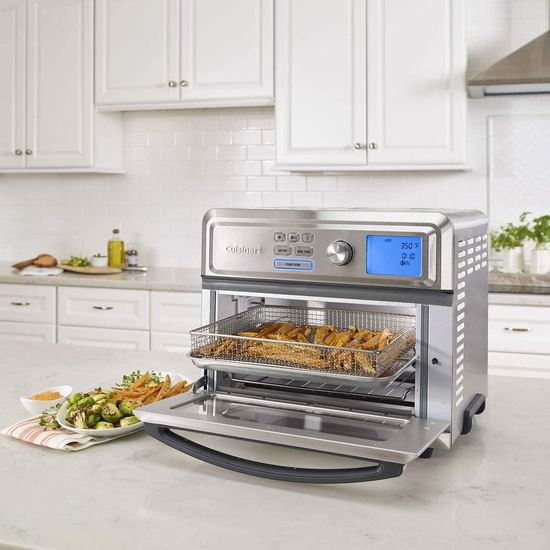 历史最低价!Cuisinart 美膳雅 TOA-65C 多功能数字式 空气炸锅/对流烤箱/热风炉6折 239.99加元包邮!