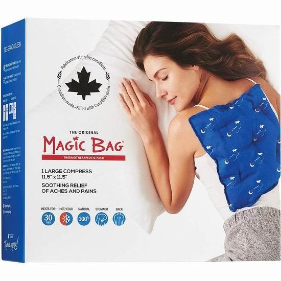 历史新低!Magic Bag 2.6磅 加大号 冷热两用 冰敷/热敷袋 19.99加元!