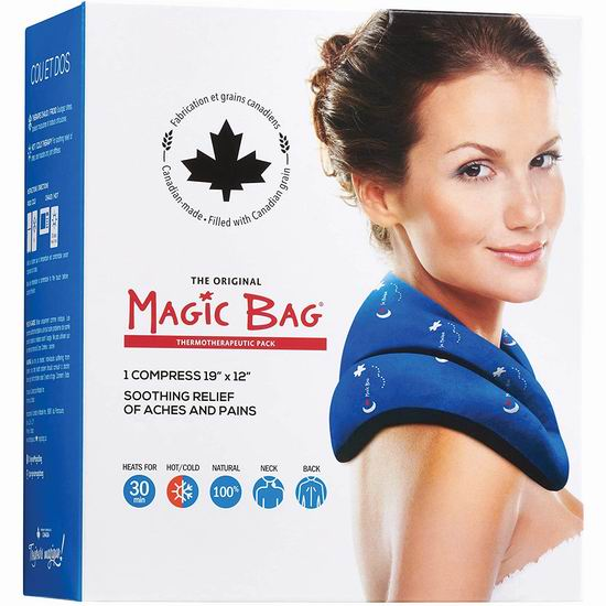 历史新低!Magic Bag 44盎司 冷热两用 颈背部 冰敷/热敷袋 19.99加元!