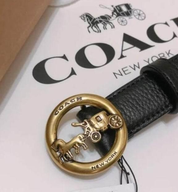 折扣升级!Coach Outlet精选时尚皮带/腰带4折起+购2条额外8折+包邮!