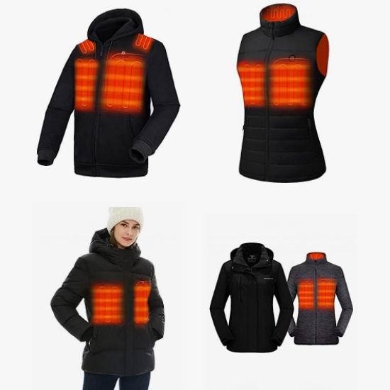 金盒头条:精选多款 Venustas 充电式 电热保暖夹克、背心7折起!