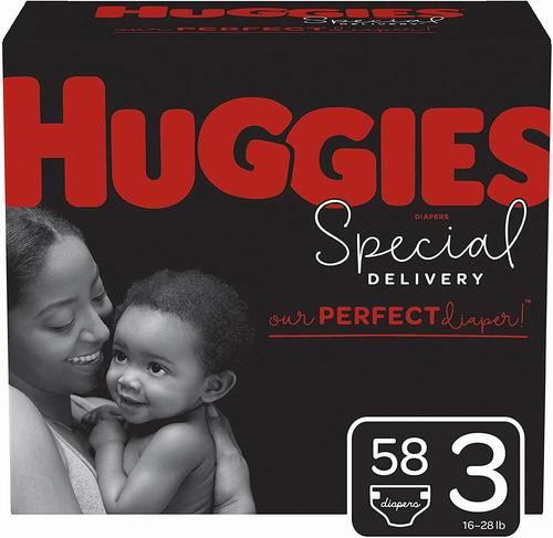 Huggies 低过敏性一次尿布/纸尿裤 19.98加元(Size 3/5),原价 26.97加元