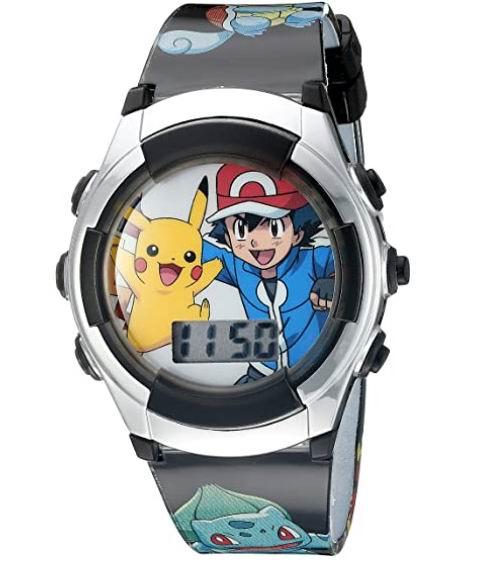 Pokemon 宠物小精灵儿童数字手表 13.49加元