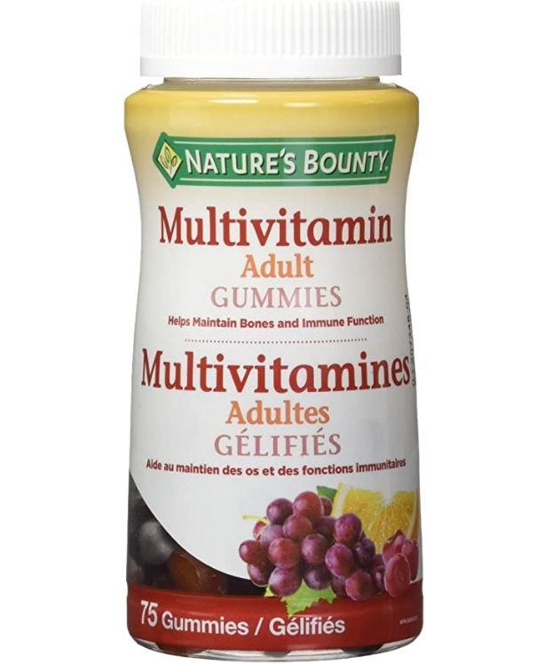 Nature's Bounty  成人复合维生素软糖 75粒 5.97加元,原价 8.98加元