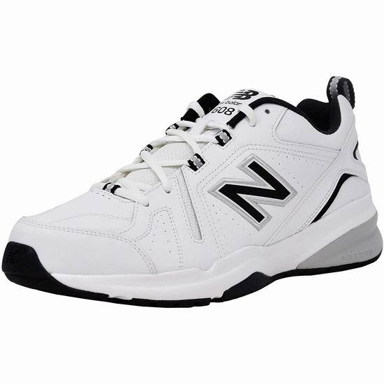 New Balance 608 V5 男式减震复古运动鞋5折 50加元包邮!5色可选!