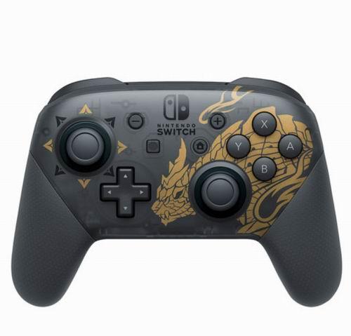 新品发售:Nintendo Switch Pro 《怪物猎人崛起》怨虎龙手柄 99.99加元 3月26日发售