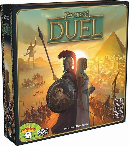 《7 Wonders Duel 七大奇迹:对决》同世界观的全新二人游戏 45.95加元