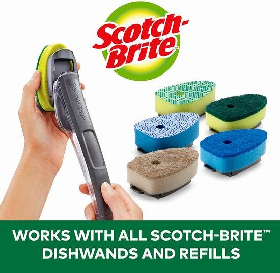 Scotch-Brite 替换碗刷头 2个装 2.82加元,原价 3.99加元