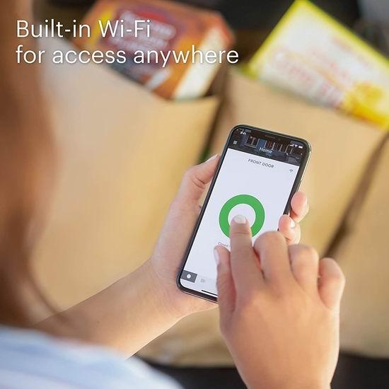 历史新低!August 第四代 Wi-Fi 智能门锁 205.87加元包邮!无需Hub、智能感应开关锁!