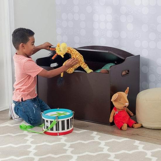 KidKraft Austin 儿童玩具储物箱/收纳凳 7.5折 89.97加元+包邮!