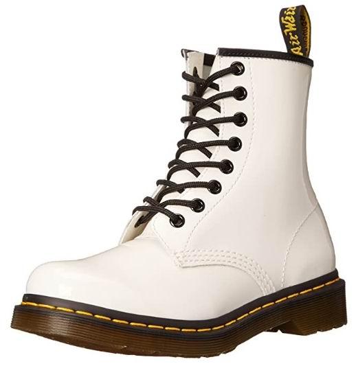 Dr. Martens 1460 W女士白色马丁靴 153.78加元(7码),原价 200加元,包邮