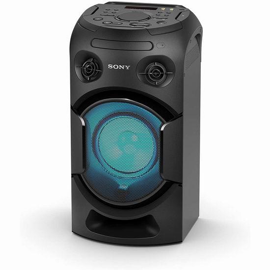近史低价!Sony 索尼 MHC-V21 高功率 派对唱K神器 一体式蓝牙音响5.7折 199.99加元包邮!