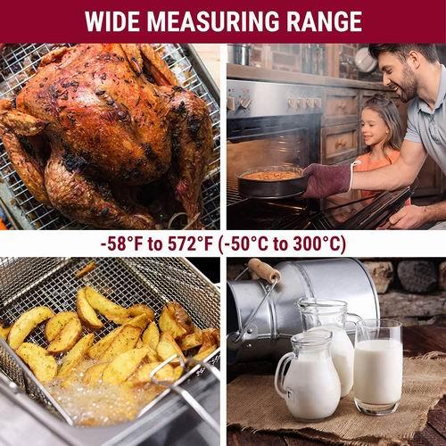 ThermoPro TP03B 数字肉类温度计 8.5折 14.44加元,担心烤肉外熟内生?你需要一支肉类温度计