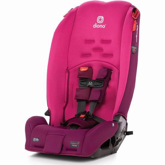 Diono 谛欧诺 Radian 3R 成长型儿童汽车安全座椅 268.57加元包邮!