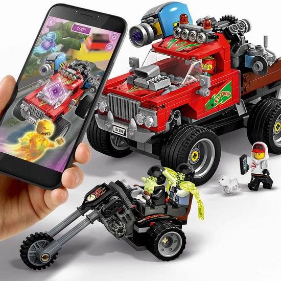 精选多款 Lego 乐高积木套装5折起!封面款特技卡车5折 24.99加元!