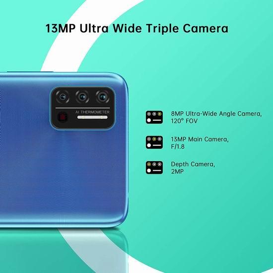 金盒头条:历史新低!UMIDIGI A7S 6.53英寸 水滴屏 双卡双待 解锁版智能手机(2GB+32GB) 107.99加元包邮!3色可选!仅限今日!