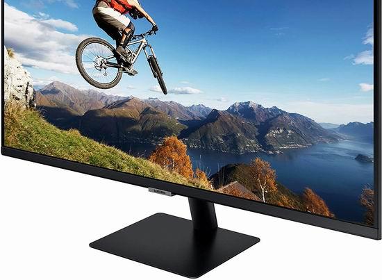 历史新低!SAMSUNG 三星 M7 32英寸 4K UHD 二合一 智能电视/显示器6折 298加元包邮!带Office 365套件!