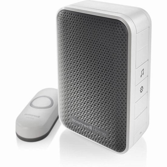 历史新低!Honeywell RDWL313A2000/E 便携式无线门铃5折 19.98加元!可用于老人应急呼叫!