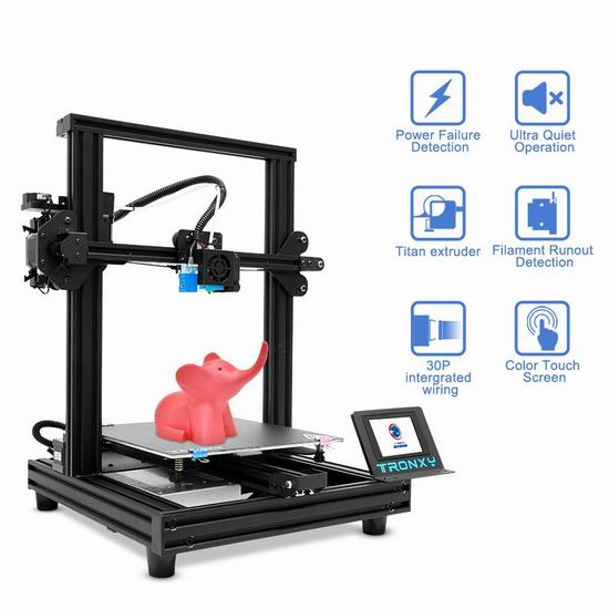 历史新低!TRONXY XY-2 Pro Titan 专业泰坦 3D打印机 178.99加元包邮!