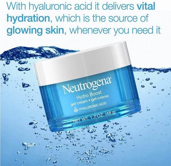 Neutrogena 露得清 Hydro Boost 透明质酸 水活盈透保湿凝露 11.67加元,原价 19.99加元