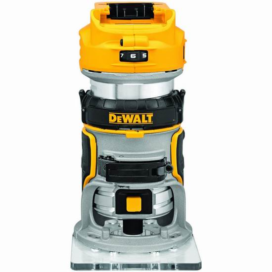 历史新低!DEWALT 得伟 DCW600B 20V MAX XR 无刷 木工雕刻机/修边机6.6折 179加元包邮!不含电池!